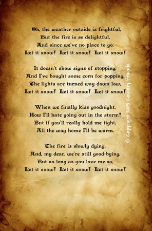 Tag145 (Lyrics to Let it Snow)