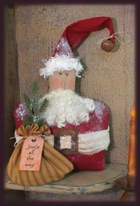 868 Santa Shelf Sitter