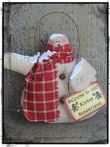 Tag159 and FREE snow ornie PATTERN