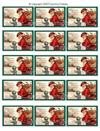 Tag L (Christmas Cheer)
