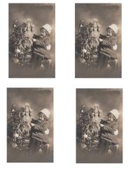 Tag-29    Santa Postcard/front and back