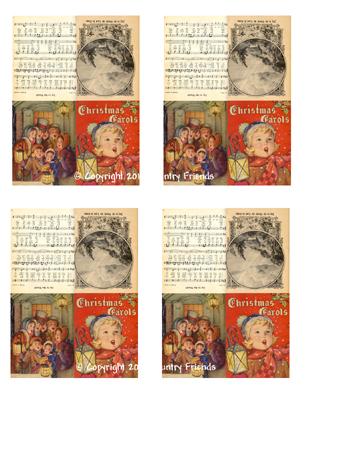 Tag146 (Christmas Carol Book)