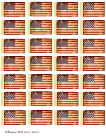 Tag104 (American Flag)