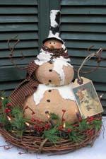 770 Vintage Snowman
