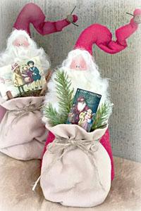912 Vintage Santa