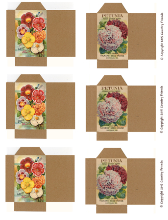 Tag136 (Vintage Seed Packets)
