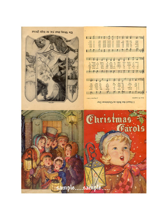 Tag152 (Christmas Carol Book)