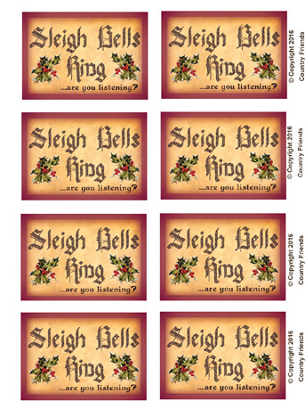 Tag154 (Sleigh Bells Ring)